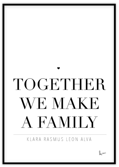 Together We Make A Family  Amakli. S Corporation Minutes Template Free Template. Sample Cover Letter For Office Assistant Template. Strategic Communication Plan Template. Meeting Agenda Word Template Pics